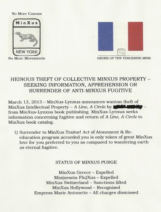 Minxus theft