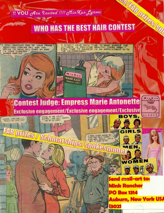 WHO HAS THE BEST HAIR CONTEST